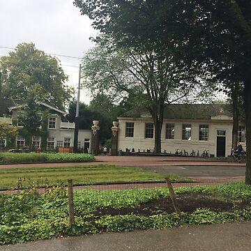 Train Tracks in Amsterdam by facingthewindow