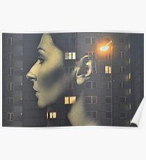 62ef0e961b7d6 steven wilson - hand cant erase innersleeve art LP fanart1 Poster