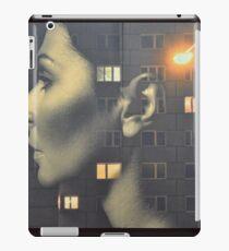 steven wilson - hand cant erase innersleeve art LP fanart1 iPad Case/Skin