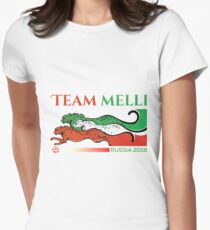 Team Melli Russia 2018 Women's Fitted T-Shirt