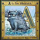 A is for Absoloth. Book cover. by John Gieg