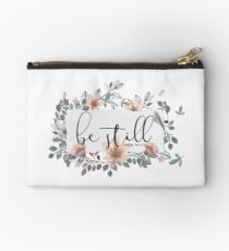 Bible Verse - Be Still Studio Pouch