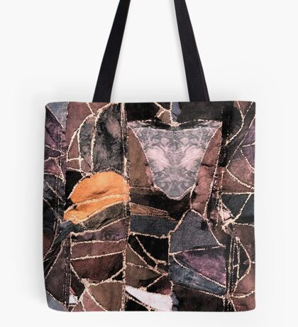 leather patches Tote Bag