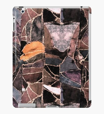 leather patches iPad Case/Skin
