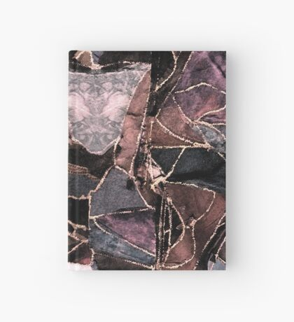leather patches Hardcover Journal