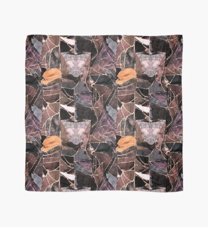 leather patches Scarf