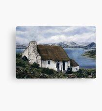 """Irish Cottage"" Canvas Print"
