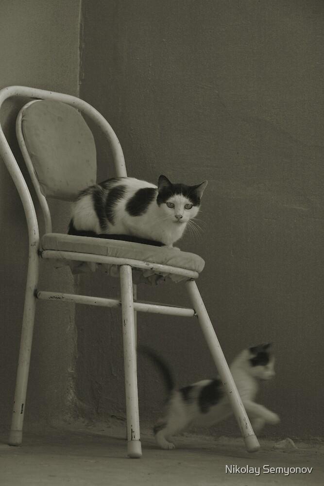 The Three by Nikolay Semyonov
