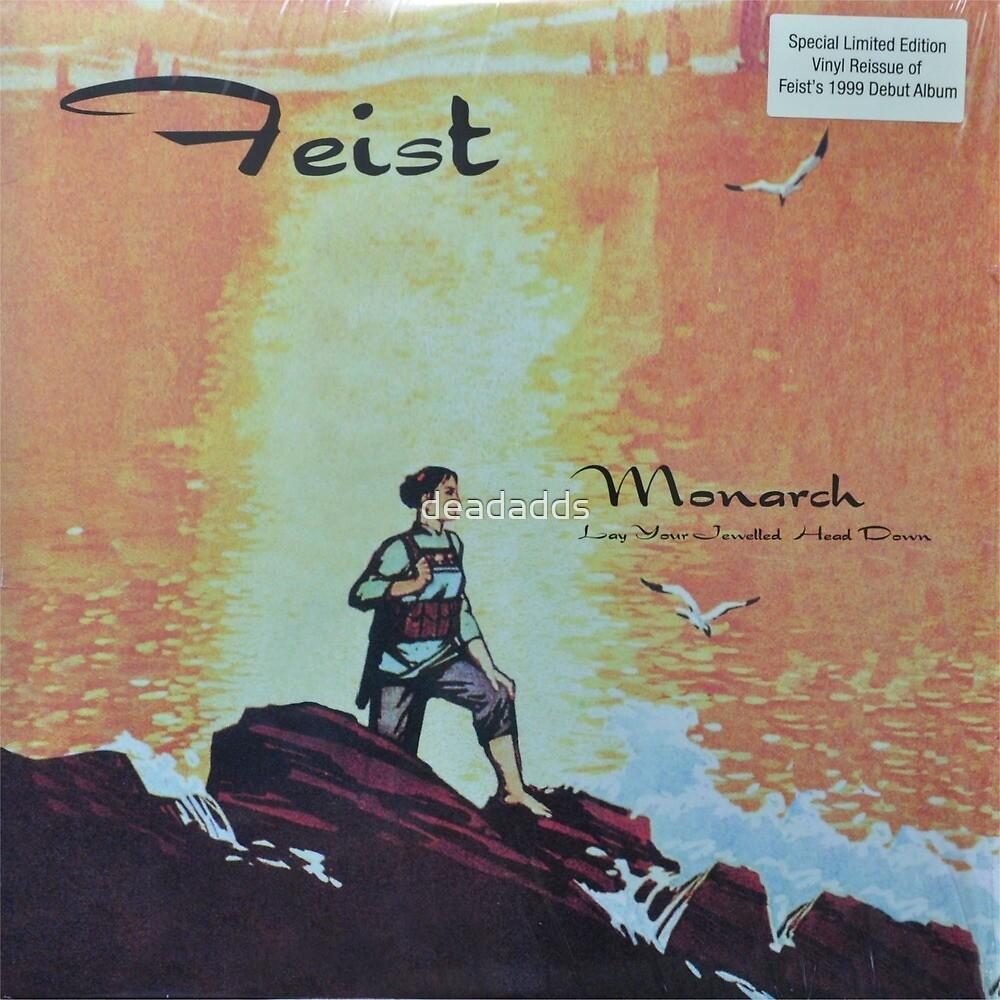 Feist - monarch - LP art fanart by deadadds