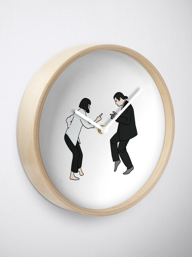 Alternate view of Pulp Fiction  Clock