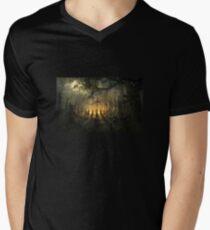 Halloween Horror Men's V-Neck T-Shirt