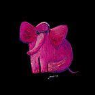 The Pink Elephant by Ziarel
