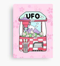 Pachi UFO Canvas Print