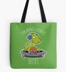 Tyrannosaurus Decks Tote Bag
