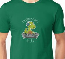 Tyrannosaurus Decks Unisex T-Shirt