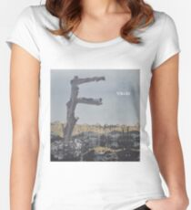 Feist - metals vinyl LP sleeve art - fanart Fitted Scoop T-Shirt
