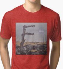 Feist - metals vinyl LP sleeve art - fanart Tri-blend T-Shirt