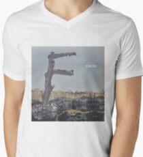 Feist - metals vinyl LP sleeve art - fanart V-Neck T-Shirt