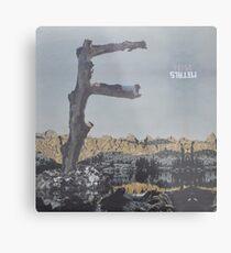 Feist - metals vinyl LP sleeve art - fanart Metal Print