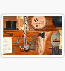 Gunpowder And A Tophat On A Shelf Sticker