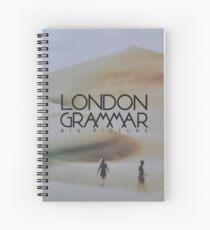 London grammar - big picture sleeve art - fanart Spiral Notebook