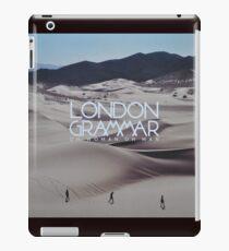 London grammar - o man o woman sleeve art - fanart iPad Case/Skin