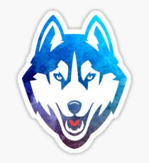UCONN Husky Sticker Sticker