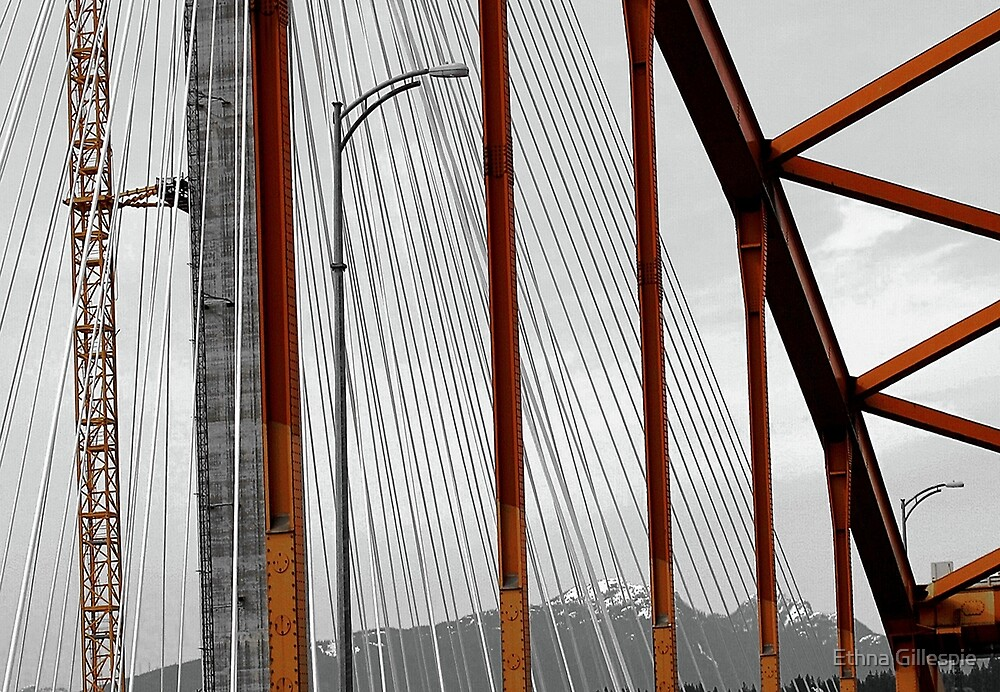 Crossing the Fraser  by Ethna Gillespie