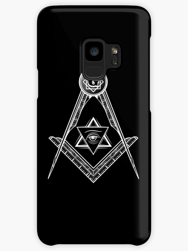 Freemasons Illuminati New World Order Symbol Logo Cases Skins For