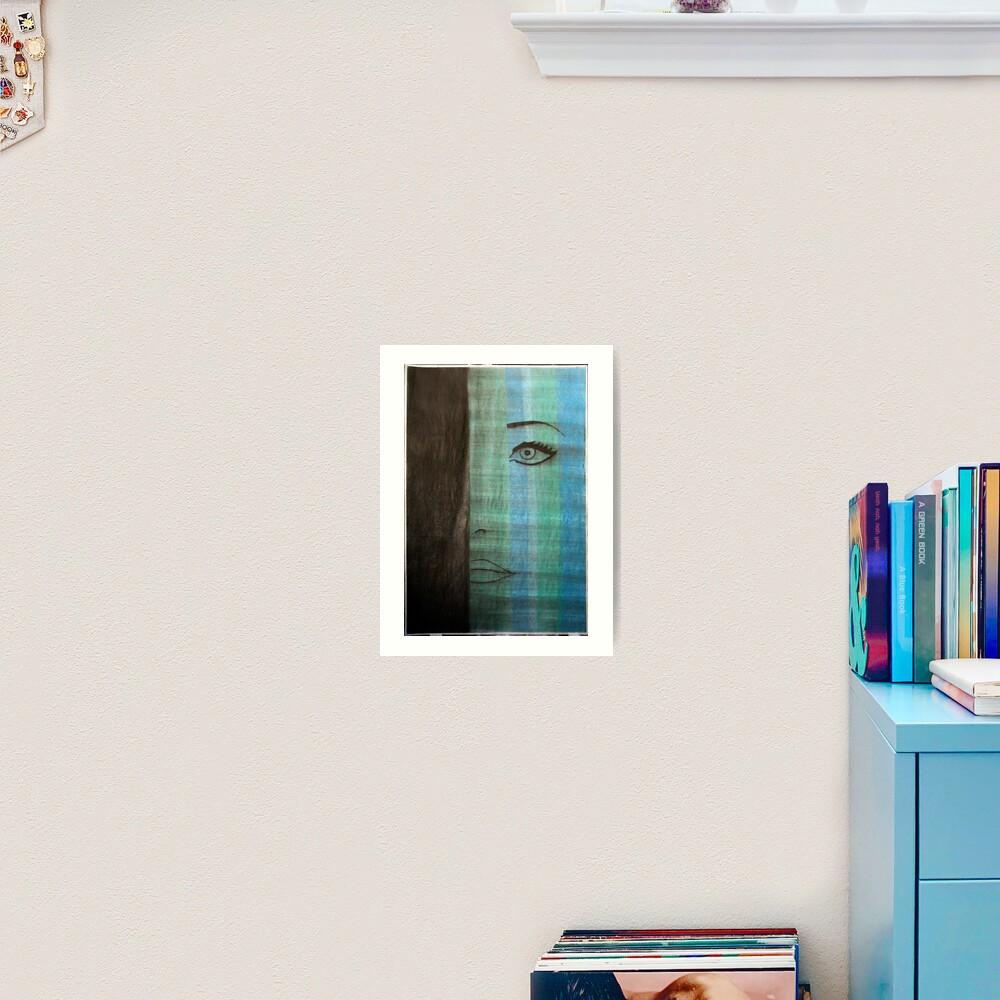 mod azure Art Print
