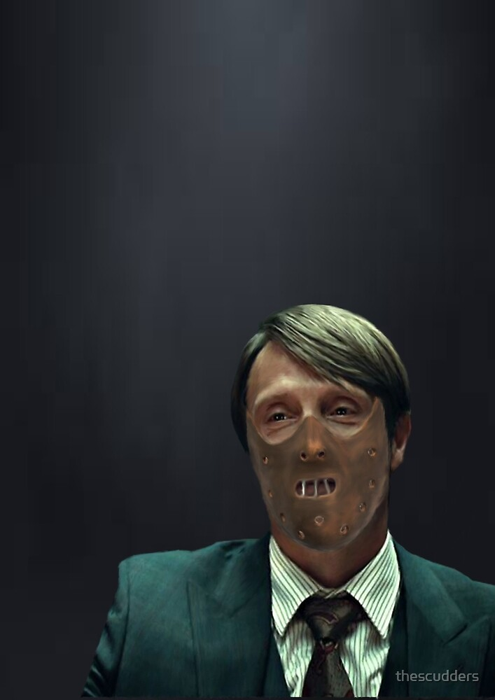 Masked Hannibal Lecter by thescudders