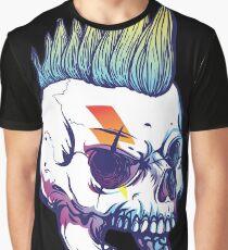 Punk Skull Graphic Shirt Graphic T-Shirt