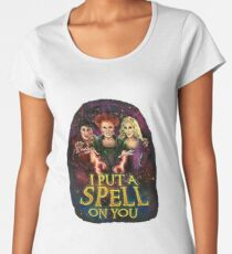 I Put A Spell On You Women's Premium T-Shirt