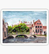Bruges Bridge Sticker