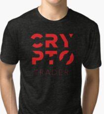 Crypto Trader Tri-blend T-Shirt