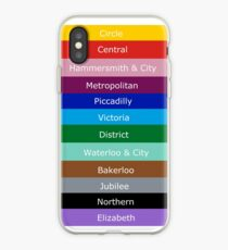 Tube Lines iPhone Case