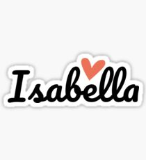 Isabella ♥ Sticker