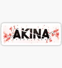 AKINA SPEED STARS STICKER Sticker