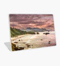 Crescent Beach from Ecola State Park Laptop Skin