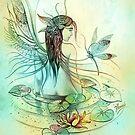 """THE AQUARIUS"" - Protective Angel for Zodiac Sign by Anna Miarczynska"