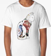 Kitsune Cat Tattoo  Long T-Shirt