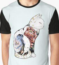 Kitsune Cat Tattoo  Graphic T-Shirt