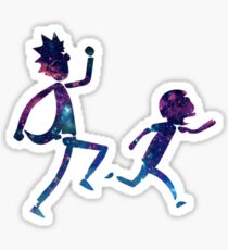 Rick and Morty Runng Galaxy - Multiple Sticker