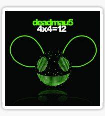Deadmau5 4x4=12 Sticker