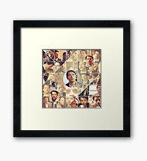 Jimmy Novak Collage Framed Print