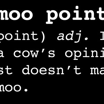 Moo Point by PerfectDisguise