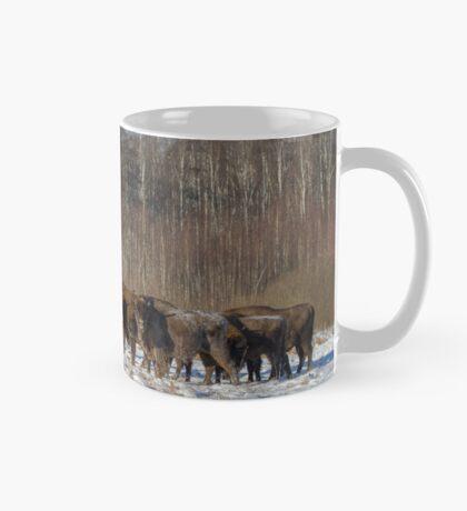 Bison Herd Mug