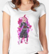 Dragon Ball Super - Goku Black Rose Women's Fitted Scoop T-Shirt