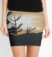Minifalda ¡Noche de otoño nítida!