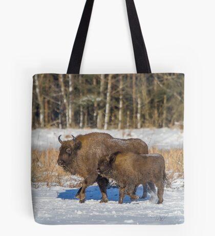 Bison Bonasus Tote Bag